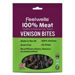 FEELWELLS VENISON BITES 100G thumbnail
